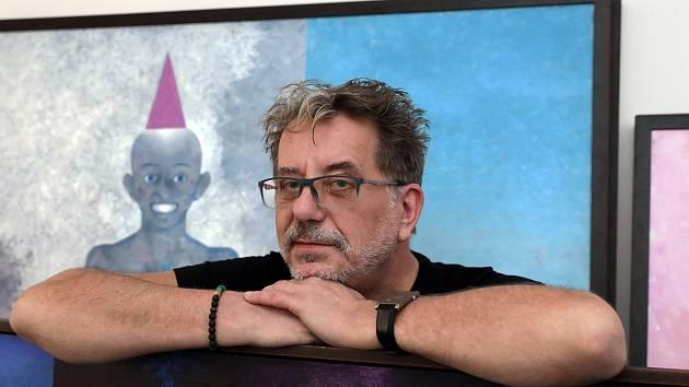 Malíř, hudebník a spisovatel Martin Němec.