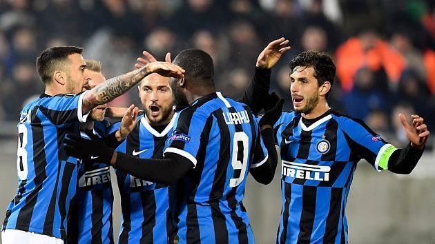 Fotbalisté Interu Milán. Ilustrační snímek