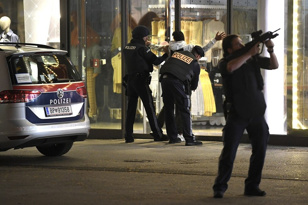 Teroristický útok v centru Vídně