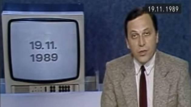 Československá televize informuje 19. listopadu 1989 o tom, že oba pražští studenti MFF UK se jménem Martin Šmíd žijí