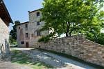 Michelangelův dům v Toskánsku.