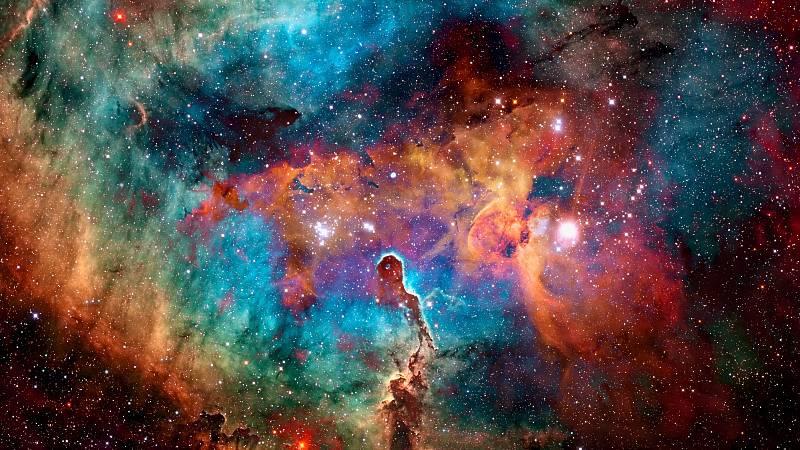 Vesmír. Ilustrační snímek