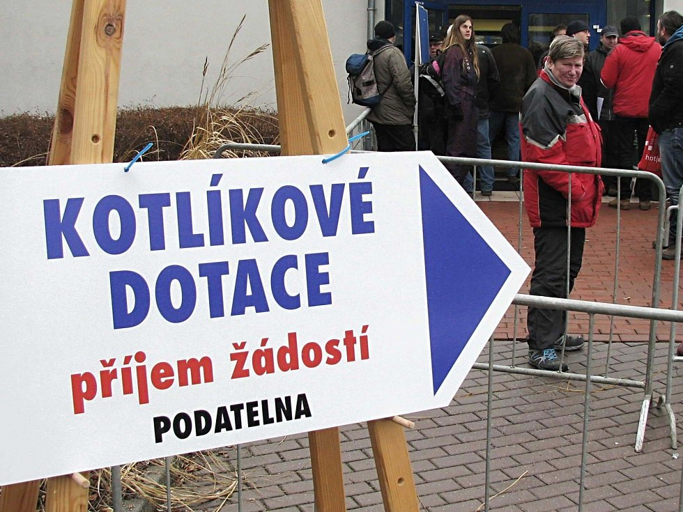 V Česku byl mimořádný zájem o kotlíkové dotace.