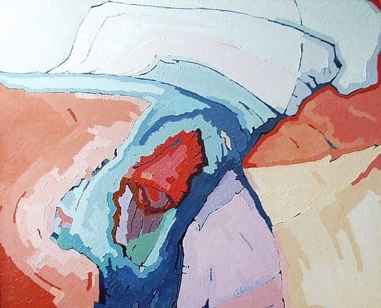 Obraz s názvem Oheň v srdci, autor Ján Chren.