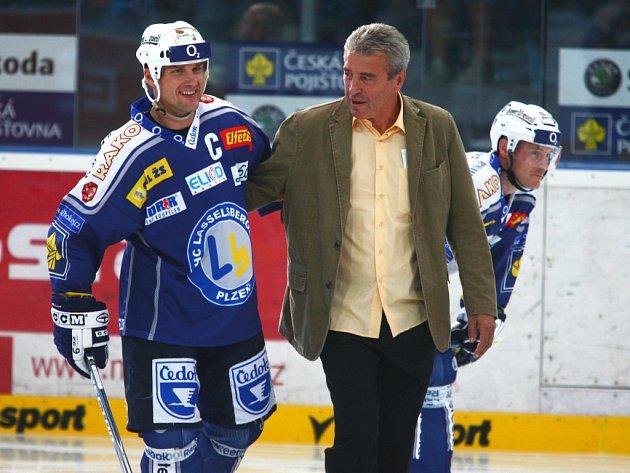 Martin Straka dovedl svou Plzeň k vítězství nad Zlínem.
