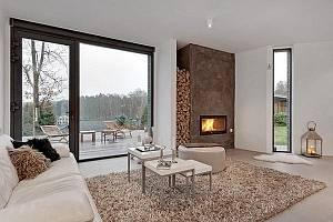 Luxusní dům ve Švédsku