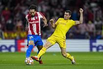 Utkání fotbalové Ligy mistrů Atlético Madrid - Liverpool.