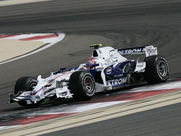 Vítěz kvalifikace na Velkou cenu Bahrajnu Robert Kubica.