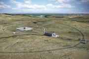 Možná podoba prvního britského kosmodromu, který má vyrůst na severu Skotska