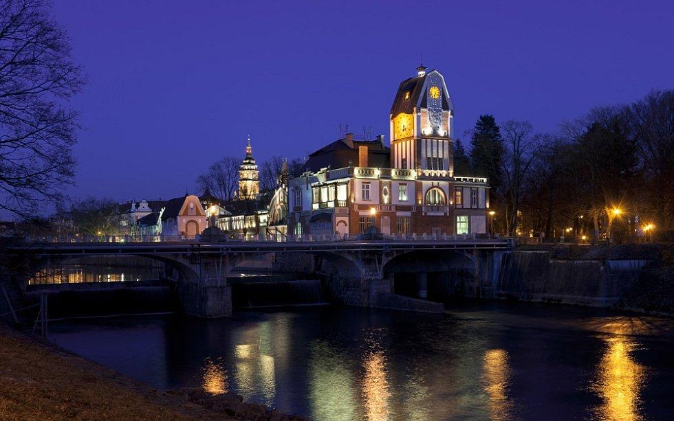 Vodní elektrárna Hučák - Hradec Králové