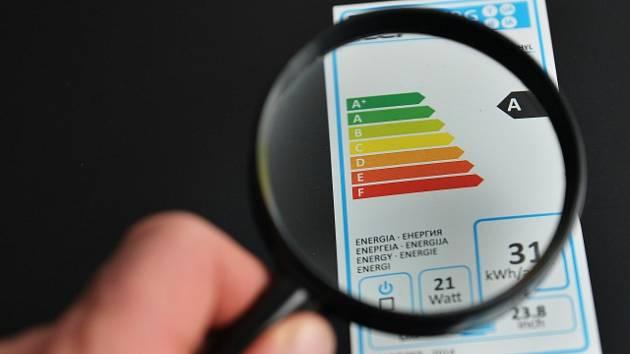 Energetický štítek (ilustrační snímek)