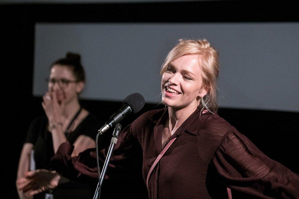 Ester Geislerová na festivalu v Karlových Varech