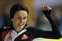Rychlobruslařka Martina Sáblíková zajela v závodě SP na 3000 metrů svůj nejlepší čas v sezoně. Tři tisíce metrů prolétla nejlepší česká reprezentantka v čase 4:03,65.