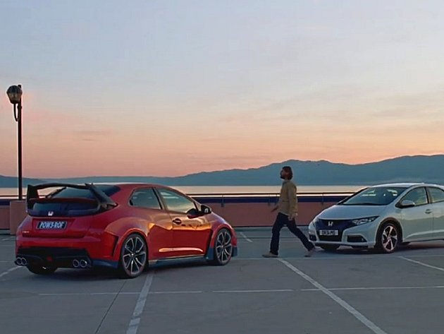Honda natočila zajímavé video se Civicem Type R.