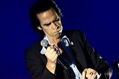Nick Cave v Praze.