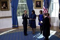 Americký prezident Barack Obama složil v soukromí Bílého domu ústavou předepsaný slib hlavy státu.