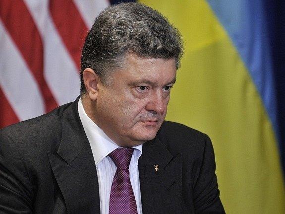 Prezident Petro Porošenko.