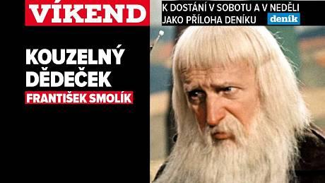 Kouzelný dědeček František Smolík, upoutávka na magazín Víkend