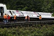 Ve Francii vykolejil kvůli podemleté trati vlak
