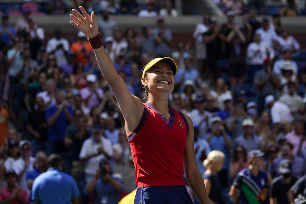 Emma Raducanuová - Britská tenistka Emma Raducanuová.