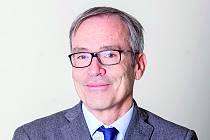 Ředitel Francouzského institutu Luc Lévy