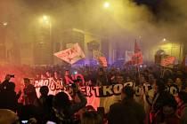 V Římě proti změně ústavy demonstrovalo přes 50.000 lidí
