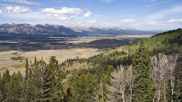 Krajina v Idaho nabízí pestrá panoramata