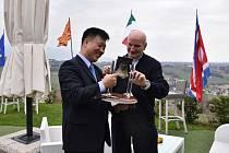 Severokorejský velvyslanec v Římě Čo Song-ki