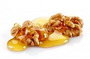 Ořechy s medem