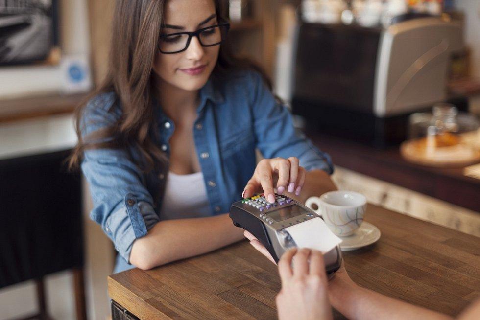Na kávě v restauraci
