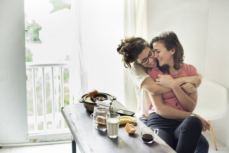 Homosexuální pár - ilustrační foto.