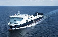 Trajekt Regina Seaways v Baltském moři. Ilustrační foto.