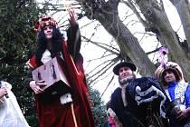 Tři králové se objevili i v Cholticích