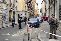 Vojáci u místa výbuchu v Lyonu