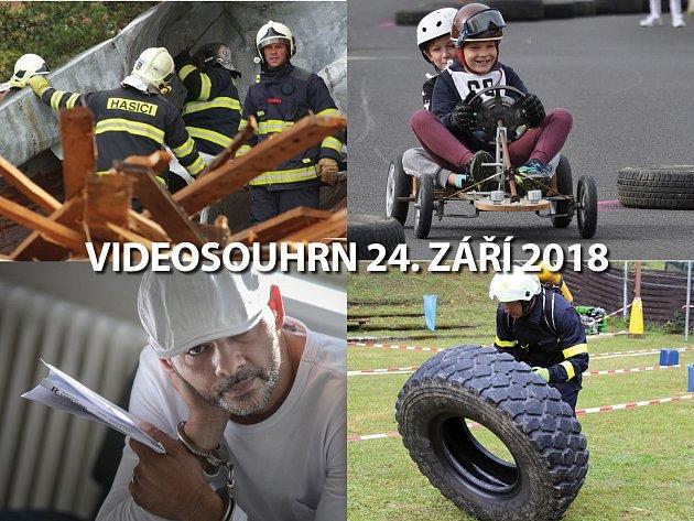Videosouhrn 24. září 2018