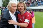 Osmdesátiny Karla Brücknera: Pavel Nedvěd po boku druhého osudového trenéra