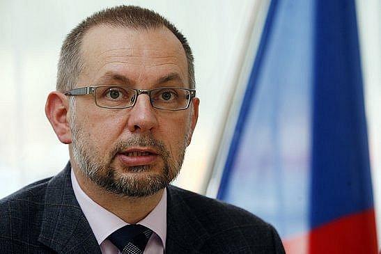 Ministr životního prostředí Ladislav Miko