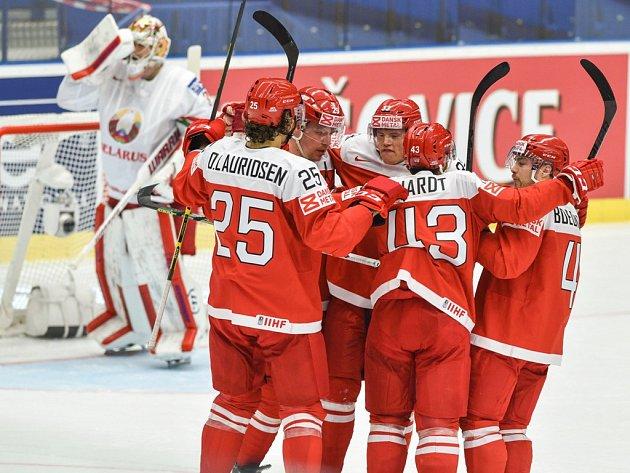 Dánsko se sice ujalo vedení, ale Bělorusko zápas otočilo