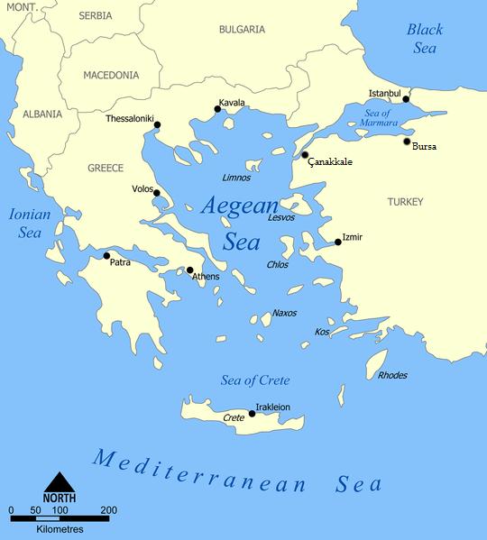 Egejské moře