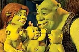 Shrek Třetí, Fiona a trojčátka