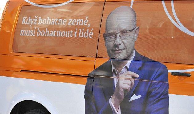 Kampaň ČSSD, Bohuslav Sobotka