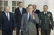 Americký prezident George Bush starší na snímku z roku 1991.