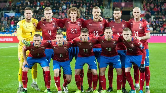 Utkání kvalifikace na EURO 2020 mezi Českou republikou a Kosovem