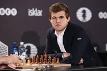 Šachový velmistr Magnus Carlsen.