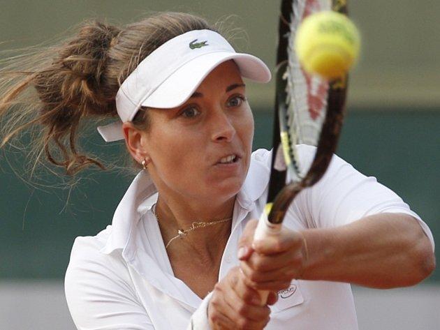 Petra Cetkovská na Roland Garros.
