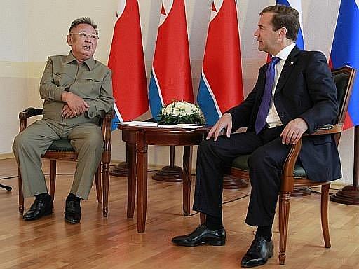 V burjatské regionální metropoli Ulan-Ude na Sibiři začala schůzka ruského prezidenta Dmitrije Medveděva se severokorejským komunistickým vůdcem Kim Čong-ilem, který je v Rusku na návštěvě už od konce minulého týdne.
