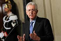 Italský premiér Mario Monti