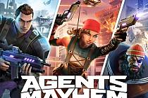 Počítačová hra Agents Of Mayhem.