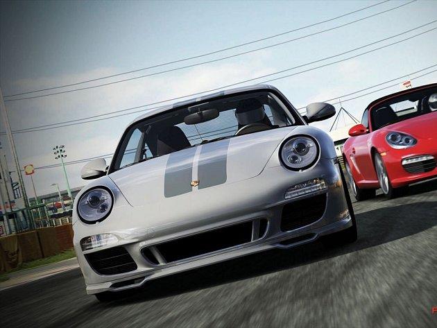Počítačová hra Forza Motorsport 4.
