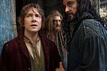 HOBIT 2. Bilbo Pytlík (Martin Freeman) s trpaslíky putuje digitální krajinou Petera Jacksona.